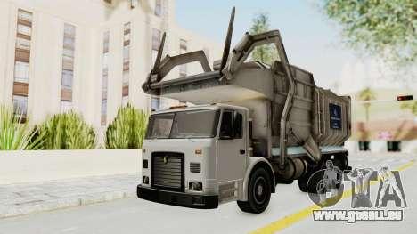 New Trashmaster pour GTA San Andreas sur la vue arrière gauche