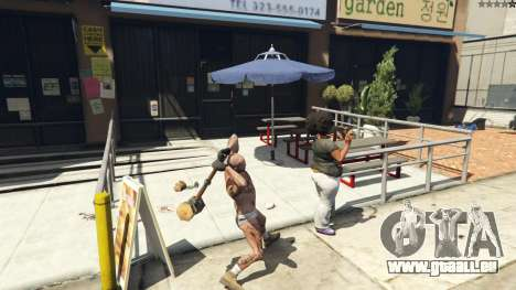 Wooden Fantasy Hammer pour GTA 5