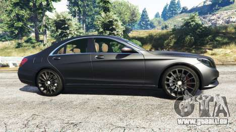 Mercedes-Benz S500 (W222) [michelin] v2.1 für GTA 5