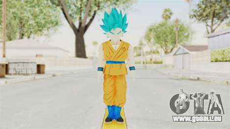 Dragon Ball Xenoverse Gohan Teen DBS SSGSS v2 pour GTA San Andreas deuxième écran