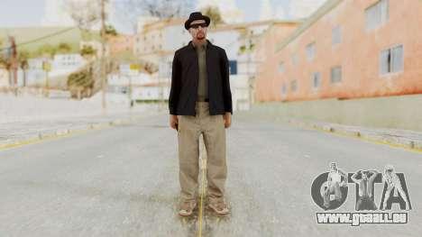 Walter White Heisenberg v1 GTA 5 Style pour GTA San Andreas deuxième écran