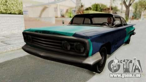Beater 1962 Voodoo pour GTA San Andreas sur la vue arrière gauche