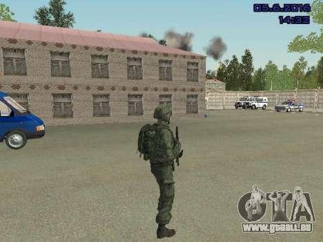 Modern Russian Soldiers pack für GTA San Andreas sechsten Screenshot