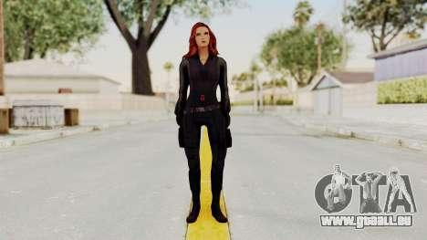 Captain America Civil War - Black Widow für GTA San Andreas zweiten Screenshot