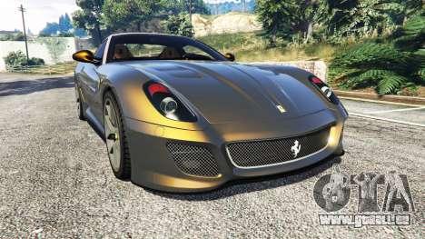 Ferrari 599 GTO pour GTA 5