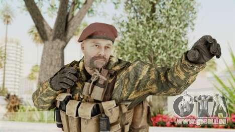 COD Black Ops Russian Spetznaz v7 für GTA San Andreas