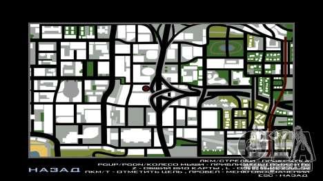 LSPD New Garage pour GTA San Andreas sixième écran