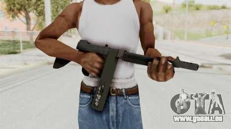 GTA 5 Gusenberg Sweeper Custom pour GTA San Andreas troisième écran