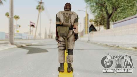 MGSV The Phantom Pain Venom Snake No Eyepatch v3 für GTA San Andreas dritten Screenshot