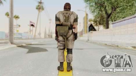 MGSV The Phantom Pain Venom Snake No Eyepatch v3 für GTA San Andreas dritten Screenshot