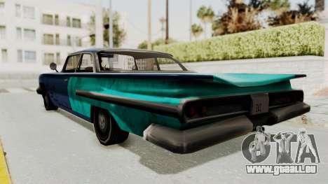 Beater 1962 Voodoo pour GTA San Andreas laissé vue