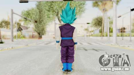 Dragon Ball Xenoverse Gohan Teen DBS SSGSS v1 für GTA San Andreas dritten Screenshot