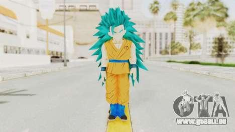 Dragon Ball Xenoverse Gohan Teen DBS SSGSS3 v2 pour GTA San Andreas deuxième écran