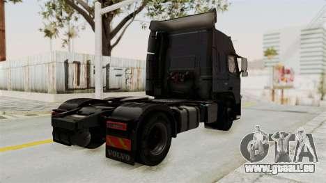 Volvo FM Euro 6 4x2 v1.0 pour GTA San Andreas laissé vue
