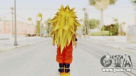 Dragon Ball Xenoverse Goku SSJ3 für GTA San Andreas dritten Screenshot