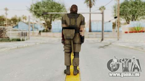 MGSV The Phantom Pain Venom Snake Olive Drab für GTA San Andreas dritten Screenshot