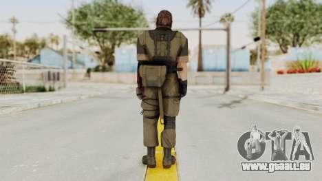 MGSV The Phantom Pain Venom Snake Olive Drab für GTA San Andreas dritten Screenshot