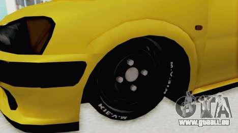 Peugeot 106 für GTA San Andreas Rückansicht