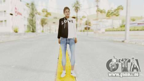 Female Skin v1 für GTA San Andreas zweiten Screenshot