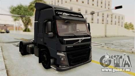 Volvo FM Euro 6 4x2 v1.0 pour GTA San Andreas sur la vue arrière gauche