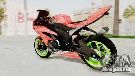 Kawasaki Ninja ZX-6R Boy from Anak Jalanan pour GTA San Andreas laissé vue