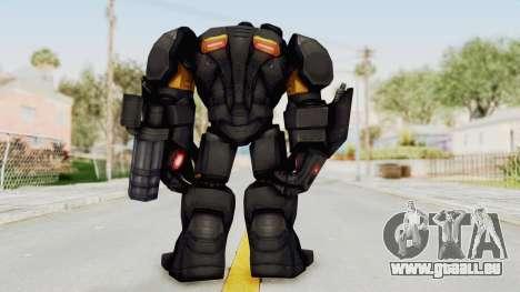 Marvel Future Fight - Hulk Buster Heavy Duty v2 pour GTA San Andreas troisième écran