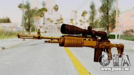 M14EBR Gold für GTA San Andreas