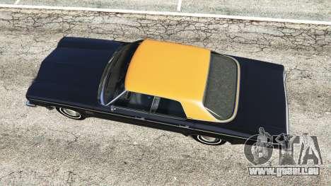 GTA 5 Oldsmobile Delta 88 1973 v2.5 vue arrière