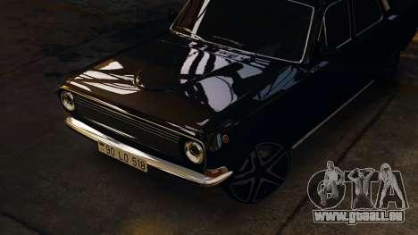 Gaz 24 Volga pour GTA 4 Vue arrière de la gauche