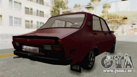 Dacia 1310 TX Realistica pour GTA San Andreas laissé vue