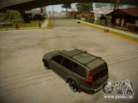 Great Wall Hover H2 2008 pour GTA San Andreas laissé vue