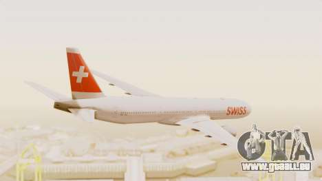 Boeing 777-300ER Swiss International Air Lines für GTA San Andreas rechten Ansicht