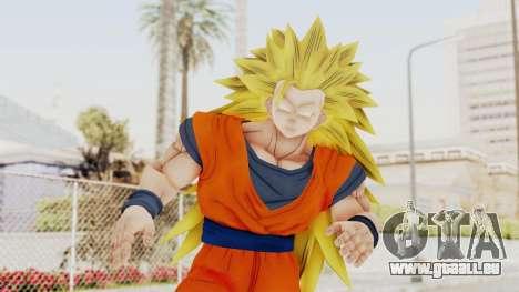 Dragon Ball Xenoverse Goku SSJ3 für GTA San Andreas