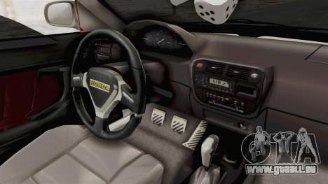 Honda Civic für GTA San Andreas Innenansicht