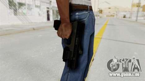 Killzone - M4 Semi-Automatic Pistol für GTA San Andreas dritten Screenshot