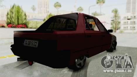 Renault Broadway v2 pour GTA San Andreas laissé vue