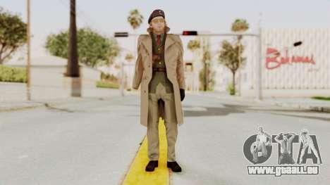 MGSV TPP Kazuhira Miller Motherbase für GTA San Andreas zweiten Screenshot