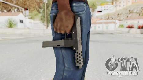 Tec-9 HD pour GTA San Andreas troisième écran