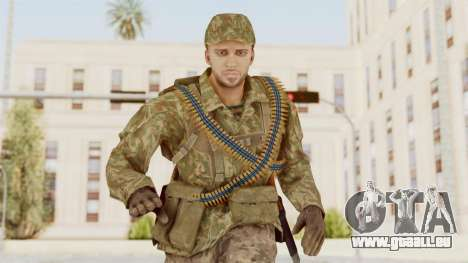 MGSV The Phantom Pain Soviet Union LMG v1 pour GTA San Andreas