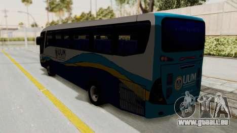 Marcopolo UUM Bus pour GTA San Andreas laissé vue
