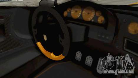 GTA 5 Pegassi Zentorno PJ pour GTA San Andreas vue intérieure
