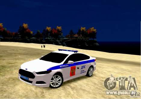 Ford Mondeo Russian Police pour GTA 4