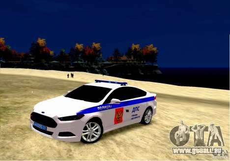 Ford Mondeo Russian Police für GTA 4