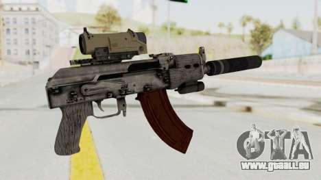 Combat SMG pour GTA San Andreas troisième écran