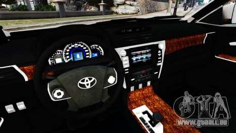 Toyota Camry Tuning V2 für GTA 4 rechte Ansicht