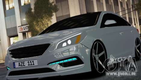 HYUNDAI SONATA 2015 AZE STYLE für GTA 4