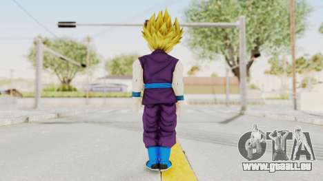 Dragon Ball Xenoverse Gohan Teen DBS SSJ2 v1 für GTA San Andreas dritten Screenshot