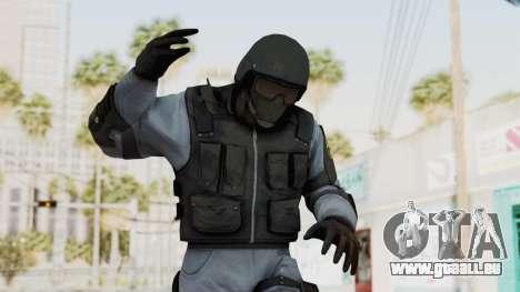 Batman Arkham Origins Swat pour GTA San Andreas