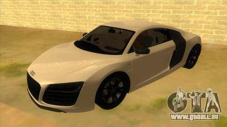 Audi R8 5.2 V10 Plus pour GTA San Andreas
