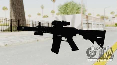 Colt M4 CQB S.W.A.T. für GTA San Andreas zweiten Screenshot